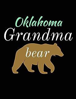 Oklahoma Grandma Bear: Bear Journal Notebook to Write in