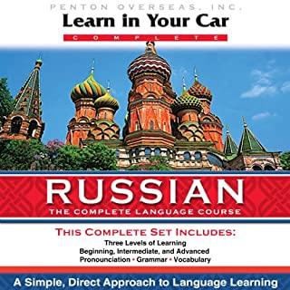Couverture de Learn in Your Car: Russian, the Complete Language Source