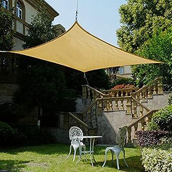 Belle Dura Square Sun Shade Sail Canopy