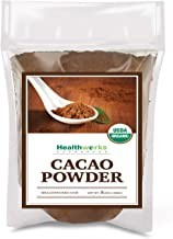 Healthworks Cacao Powder (48 Ounces / 3 Pounds) | Cocoa Chocolate Substitute | Certified Organic | Sugar-Free, Keto, Vegan & Non-GMO | Peruvian Bean/Nut Origin | Antioxidant Superfood
