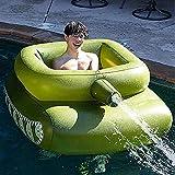 Flotador hinchable para piscina, juguete para jóvenes y adultos, juguete de agua gigante para exteriores, para lagos y playa, traje de baño para el verano, natación, colchón hinchable B