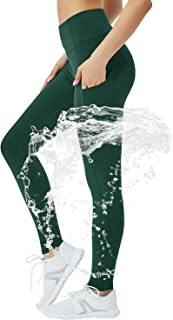 STRETCHUP Women's Fleece Lined Leggings with Pocket Waterproof High Waisted Thermal Winter Yoga Pant for Women Workout