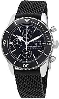 Breitling Superocean Heritage II Chronograph Automatic Chronometer Black Dial Men's Watch A13313121B1S1
