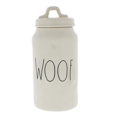 Rae Dunn Woof Dog Canister / Container By Magenta