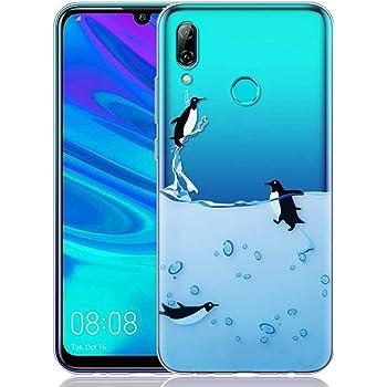 ZhuoFan Funda Huawei P Smart 2019, Cárcasa Silicona Transparente ...