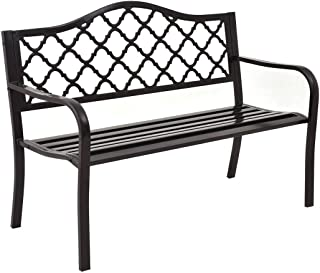 cast aluminum porch swing