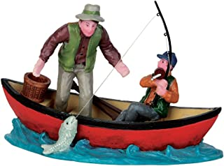 Lemax Village Collection Canoe Catch #52344