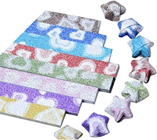 [Shine] Bright Origami Lucky Star Origami Handmade Gift, 8 Colors 316 Sheets
