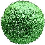 LAHappy Bolas de Boj Artificial Simulación Esfera Decorativa Bola de Planta Artificial al Aire Libre Interior para la Boda Centro Comercial Decoración,50cm