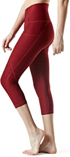 Tesla Yoga Pants 17Inches/21 Inches Capri High Waist Tummy Control w Pocket