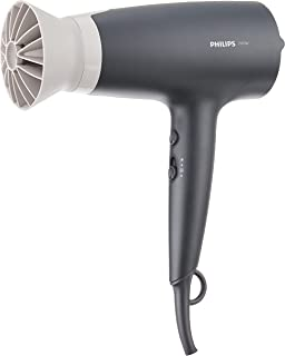 PHILIPS BHD351/13 Dryer 3000 Airflower Thermoprotect Hair Dryer (2100W) Charcoal/Grey