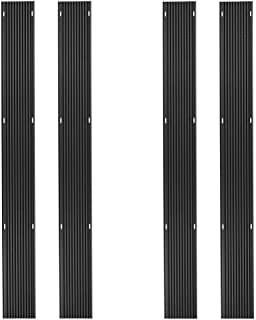 Rage Powersports 20ft. Snowmobile Ski Carbide Glide Protector Guides - (4) 5ft. Sections