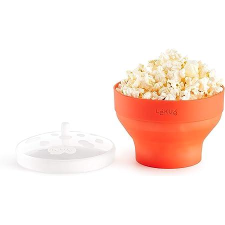 Lékué Mini Pop Corn Para Preparar Palomitas En Microondas Silicona Amazon Es