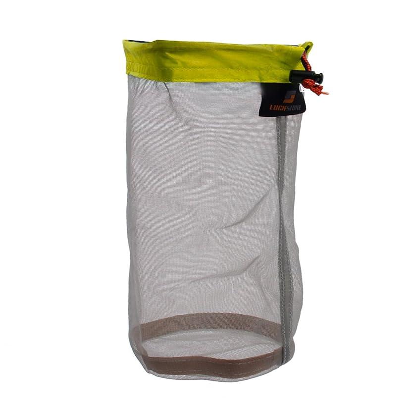 数学雇用役職【ノーブランド品】軽い収納袋  保存用バッグ キャンプハイキング旅行のための収納袋 L