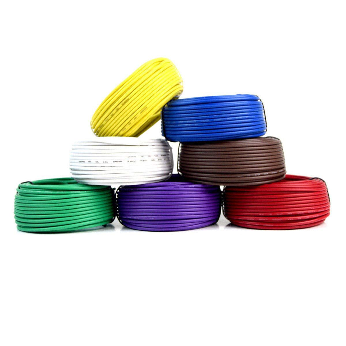[ANLQ_8698]  Amazon.com: Best Connections Trailer Light Cable Wiring Harness 50 Feet 14  Gauge 7 Wire 7 Colors: Automotive | 7 Wire Trailer Wiring Harness |  | Amazon.com