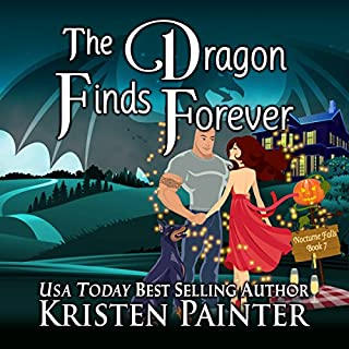 The Dragon Finds Forever audiobook cover art