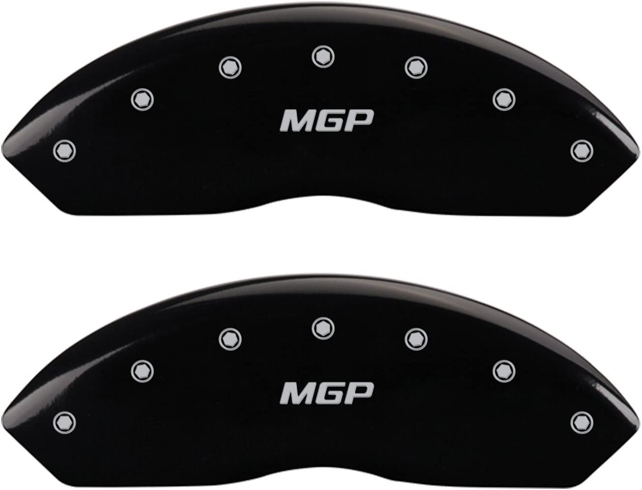 MGP Caliper Covers Superlatite 37003SMGPBK with 'MGP' Cover Engraved Outlet SALE