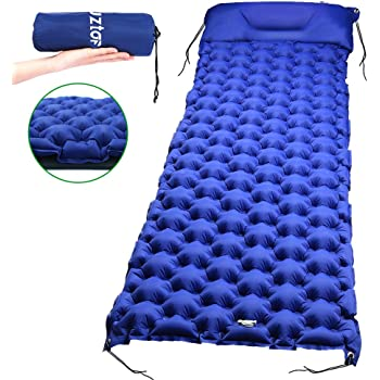 Ultraligera Impermeable Colchonetas Hinchables para Carpa//Saco de Dormir//Camping GRM Esterilla Acampada Camping Esterilla Inflable Colchoneta Almohada