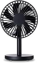 Ventilateur Usb,Ventilateur De Bureau Portable Mini Usb Support De Ventilateur Rechargeable Avec 3 Vitesses Silencieux Ven...