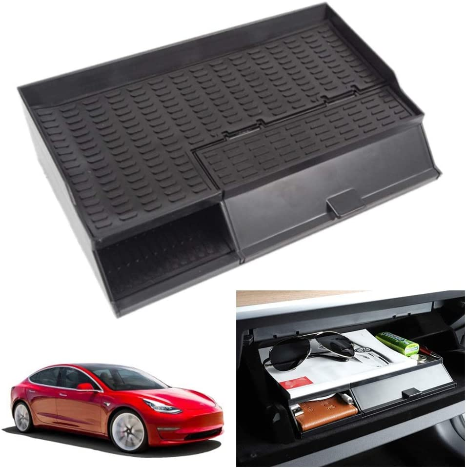 online shopping ABS Car Center Armrest Box Glove Many popular brands Tray Tesla Mo Organizer for