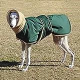 weichuang Die Kleidung für Haustiere Winter-warme Haustier-Hund kleidet wasserdichte Hunde Jacke for Medium Large Hunde Dick Hunde Kleidung Mantel Windhund Wolfshund Shepherd Kleider