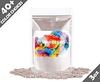 Marblers Powder Colorant 3oz (85g) [Choco Milk] | Pearlescent Pigment | Tint | Pure Mica Powder for Resin | Dye | Non-Toxic | Great for Paint, Concrete, Epoxy, Soap, Nail Polish, Cosmetics
