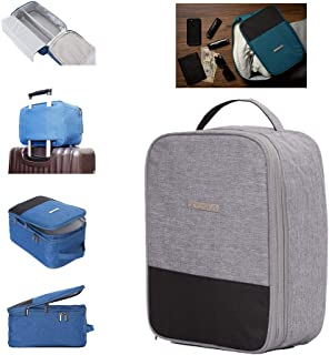 NaSaDen Shoes Bag - Pro Packing Cubes For Travel Checked Carry On Luggage Organizer HQ Portable 3 Compartment Storage Bag Packing Cube for Women Men Kids
