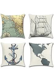Amazon.es: Nautica - Cojines y accesorios / Textiles del ...