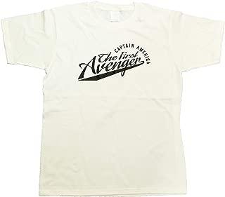 マーベル MARVEL【国内公式監修】Tシャツ キャプテンアメリカ カレッジ風Tシャツ