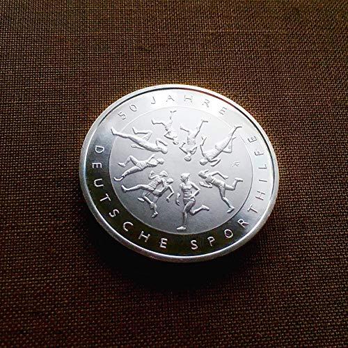Deutschland (2017) Silbermünze: 50 Jahre Deutsche Sporthilfe