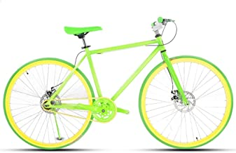 LRHD Bicicleta de carretera for hombres y mujeres, simple de ...