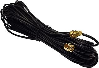 ゲイン不足解消 WIFI 無線カード ルーターアンテナ 延長ケーブル RP-SMA 9メートル コード
