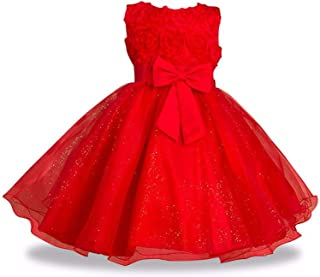 Surprise S 2-14Yrs Teenage Clothing Christmas Dress Princess Wedding Dress Sleeveless for Girls Clothes