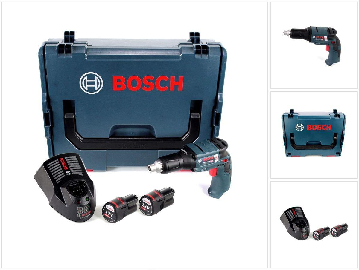 Bosch Professional 06019E4004 Bosch - Atornillador de plato (12 V, 3,0 Ah-GTB12V-11-06019E4004), color azul: Amazon.es: Bricolaje y herramientas