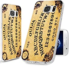 S7 Case,Galaxy S7 Case, ChiChiC [Cute Series] Full Protective Case Slim Flexible Soft TPU Gel Rubber Cases Cover Skin for Samsung Galaxy S7,yellow funny ouija board