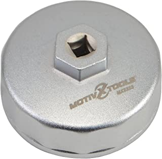Motivx Tools 74mm 14 Flute Oil Filter Wrench for Mercedes Benz, Sprinter, VW, Audi,..