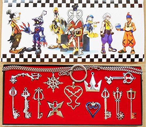 Kingdom Keys Hearts Keyblade Pendan…
