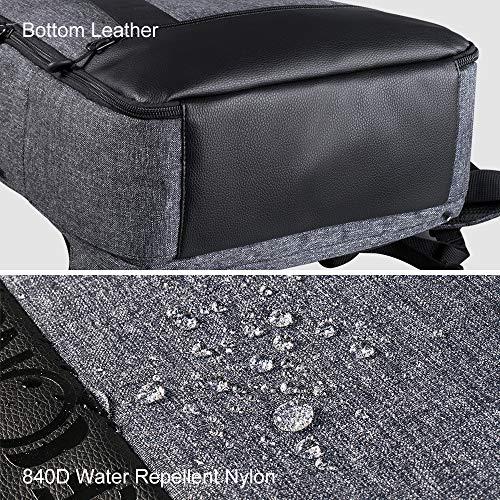 K&F Concept Kamerarucksack Fotorucksack Spiegelreflex wasserdicht für Canon Nikon Sony DSLR