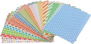 Baoblaze 20 Sheets Colorful Photo Sticker Borders Film Stickers for Fujifilm Instax Mini 8, 7S, 25, 50S, 90 Camera Film - B