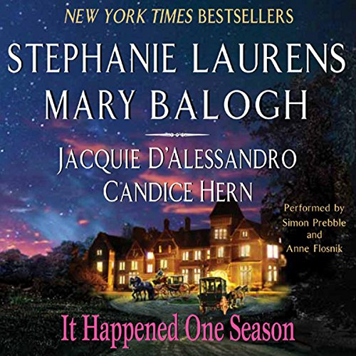 It Happened One Season audiobook cover art