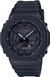 Casio G-Shock GA-2100-1A1DR Resin Band Analog-Digital Watch for Men - Black
