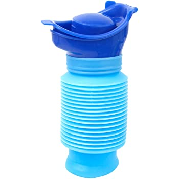 Portable Family Unisex Mini Toilet Urinal Bucket for Travel and Kid Potty Pee Training