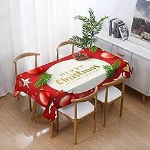 Kerst Rechthoekig Tafelkleed - Kerst Waterdicht Tafelkleed Eettafel Woninginrichting Rechthoek Tafelkleed Woondecoratie Mo...