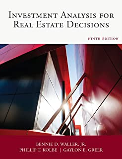Dearborn Investment Analysis for Real Estate Decisions, Comprehensive Guide on Real Estate Investing, 9th Edition (Paperback)