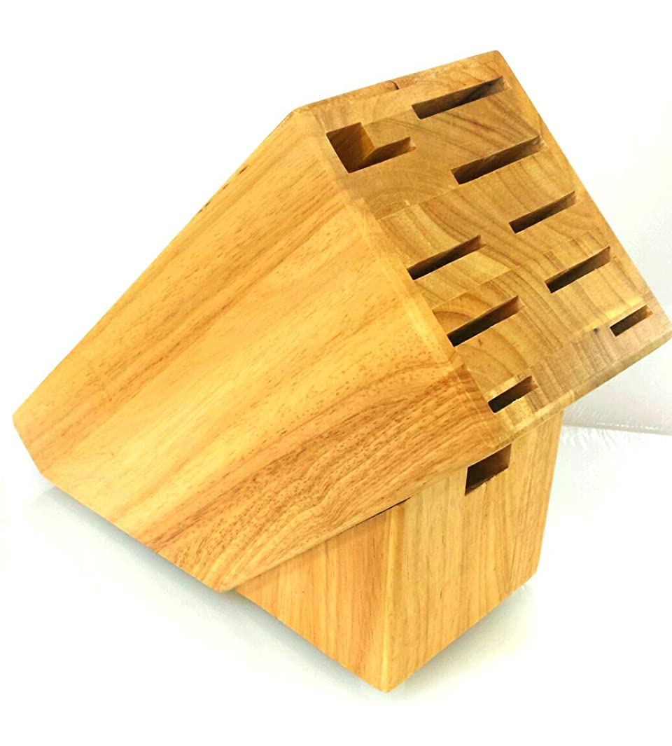 10 Slot Hardwood Knife Block