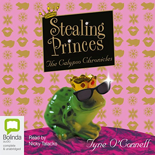Stealing Princes audiobook cover art