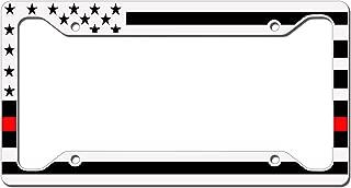 wildland firefighter license plate