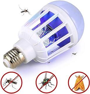 LLXX AC 110~220V LED Bombilla para Mosquitos E27 / B22 Bombilla LED para iluminación del hogar Lámpara de Trampa de Insectos Zapper Luz Anti-Mosquitos para Insectos