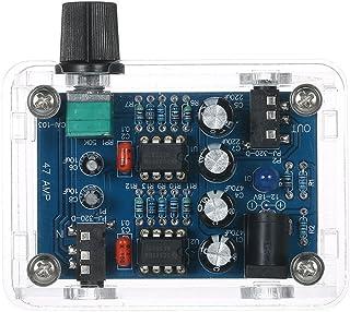KK moon NE5532 Hi-Fi ヘッドホンアンプキットDIYキット DC9V-18V 47 Amp 透明ハウジング 自作 組み立てキット