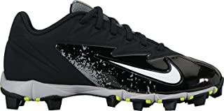 Nike Boy's Vapor Ultrafly Keystone Baseball Cleat Black/White/Wolf Grey/Cool Grey Size 1 M US